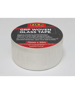 FIX-R WT7550 Woven Glassfibre Tape 75mm x 50m roll