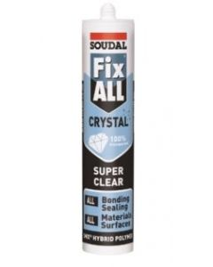 Soudal 118779 Fix All Crystal