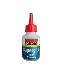 Soudal 115107 Superglue High Viscosity