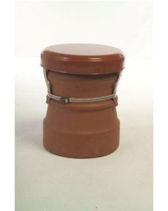JD Burford MAD34 MAD Round Capping Cowl Terracotta