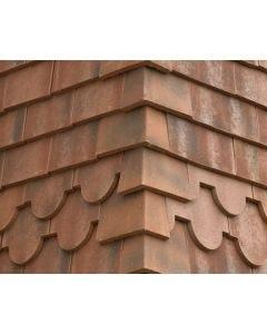Sandtoft Concrete Plain External Angle RH 90D