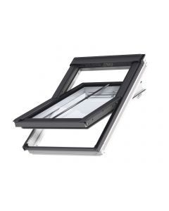 VELUX Conservation Centre Pivot roof window + flashing - recessed slate