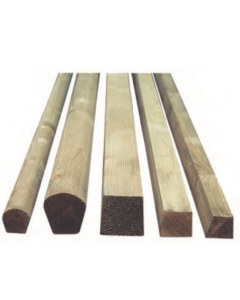 Associated Lead Mills Treated Lead Wood Roll - Priced Per Linear Meter